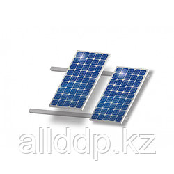 Комплект для наклонной крыши на 2 модуля, алюминий