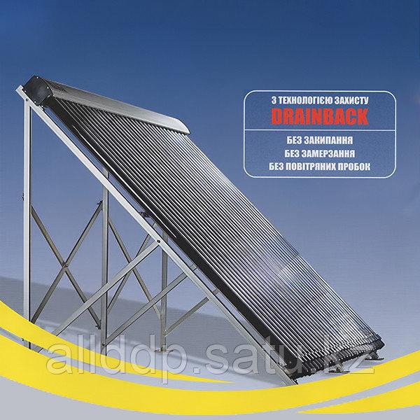 Вакуумный солнечный коллектор Altek SC-HD-30 самосливной (drainback)