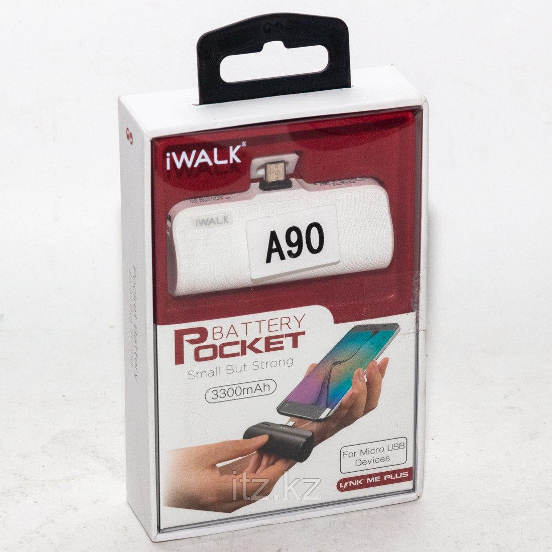 Портативное зарядное устройство iWalk 3300mAh A90 Белый