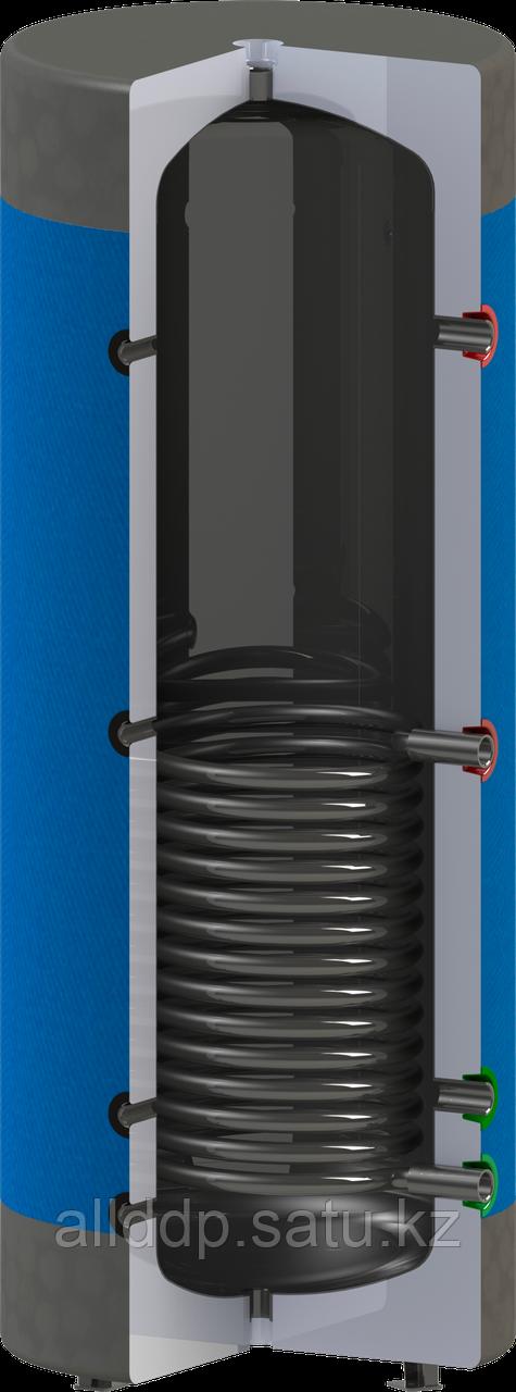 Бак аккумулирующий Werden classic УH 800, нижний теплообменник из чёрной стали