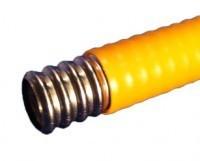"""Твёрдый трубопровод в PE покрытии GofraFlex 15"""""""