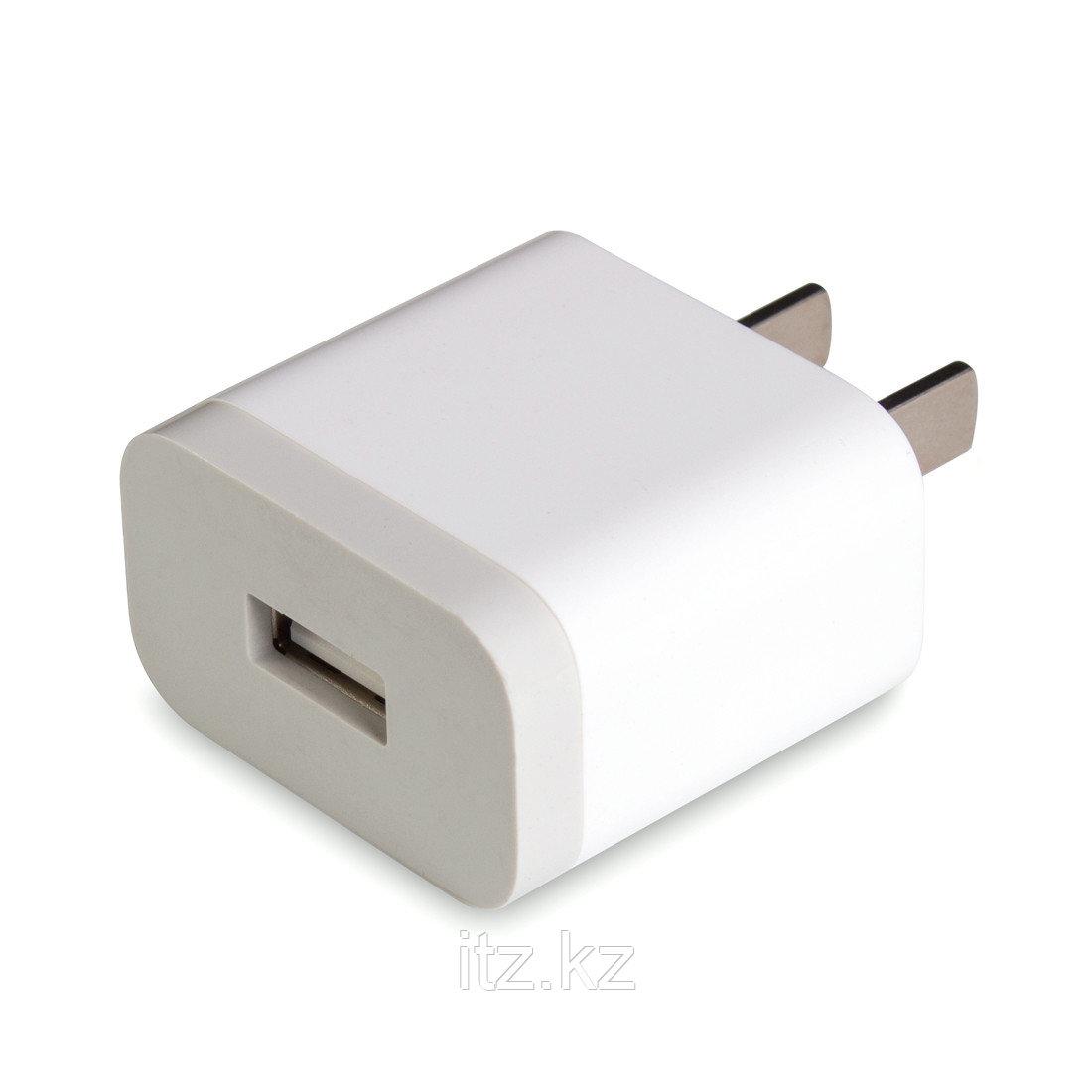 Универсальное USB зарядное устройство Xiaomi (Кит. ст) Белый