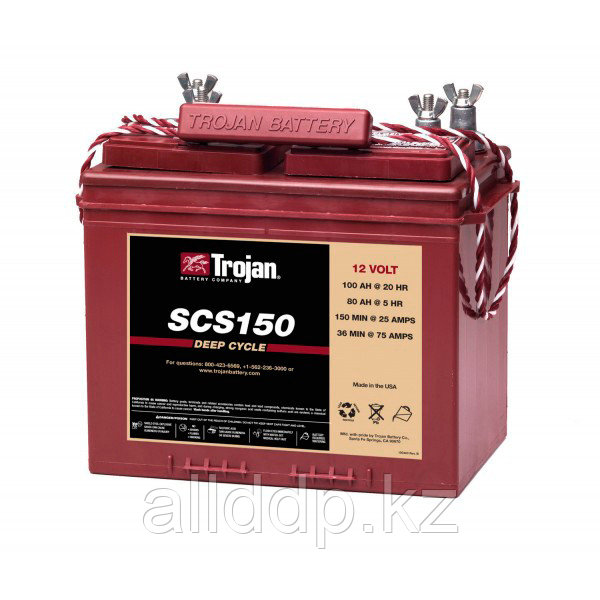 Аккумуляторная батарея Trojan SCS150 (для лодок и домов на колёсах)