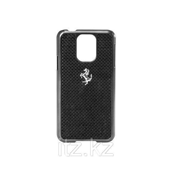 Чехол для телефона Ferrari GT Carbon Hardcase FECBGUHCS5BL