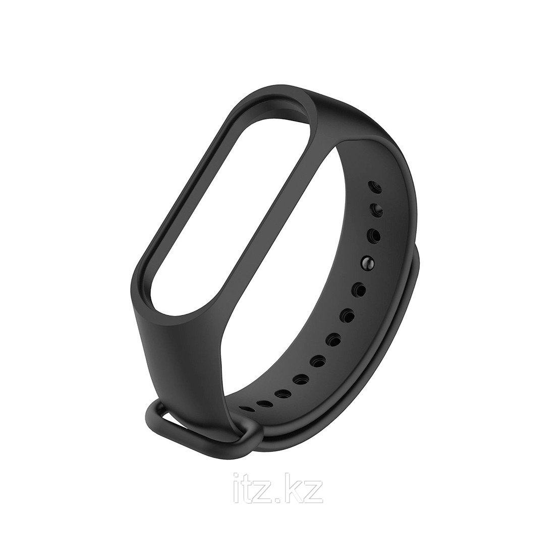 Сменный браслет для Xiaomi Mi Band 3 (Original) Черный