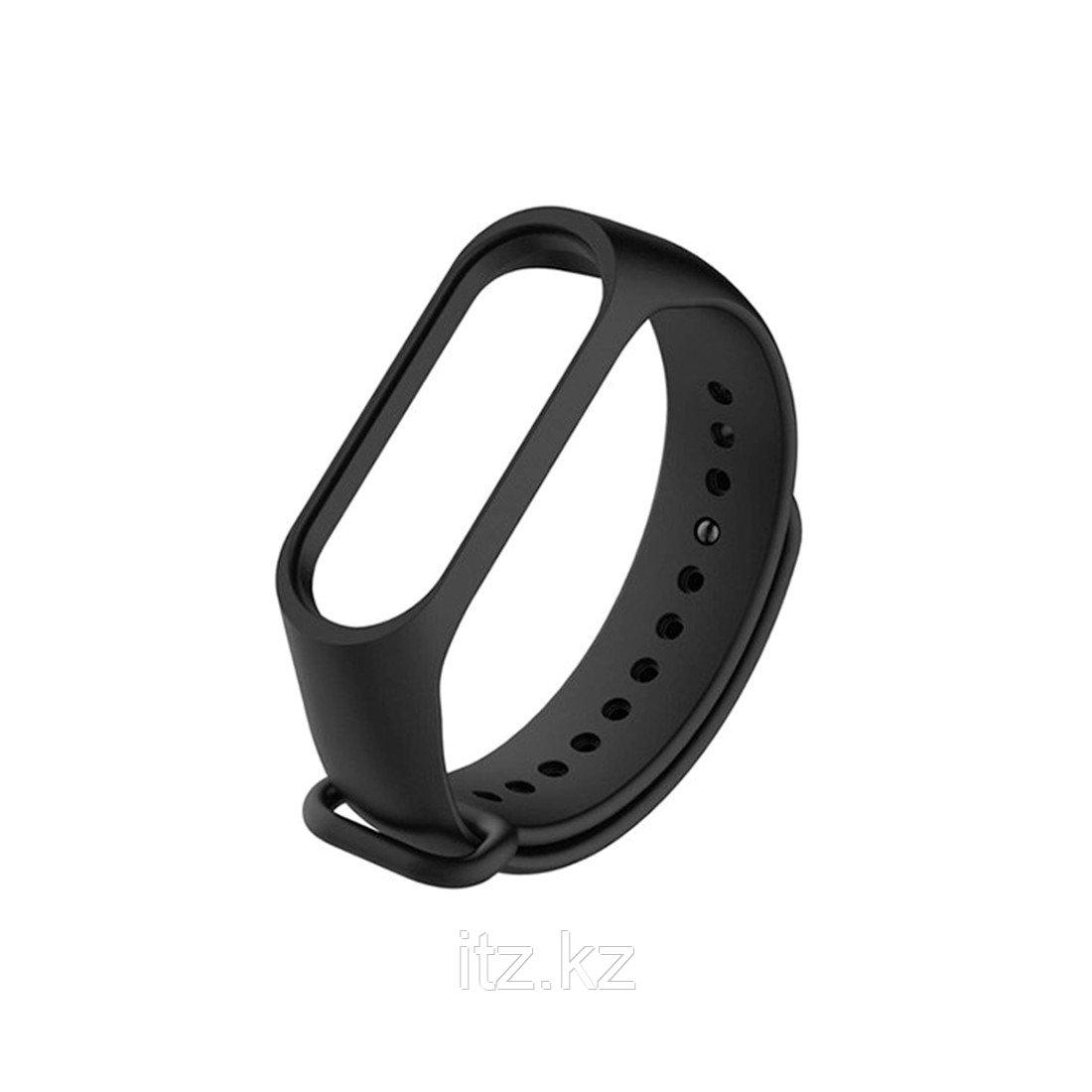 Сменный браслет для Xiaomi Mi Band 3 Черный