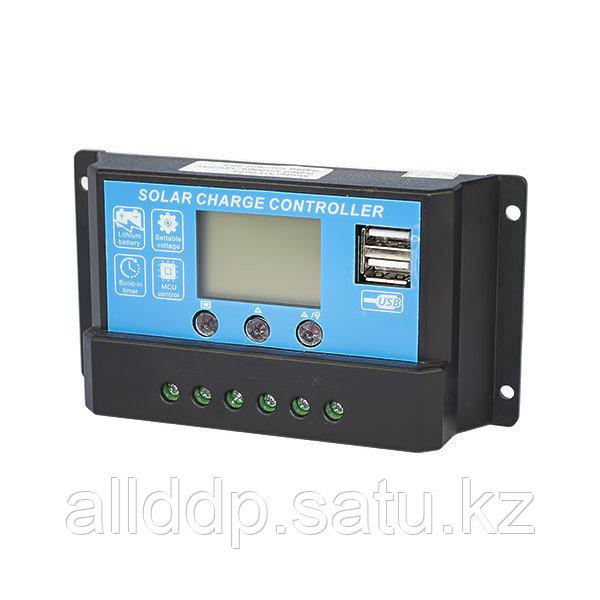 Контроллер заряда Juta DY1024+2USB 12/ 24В, 10А