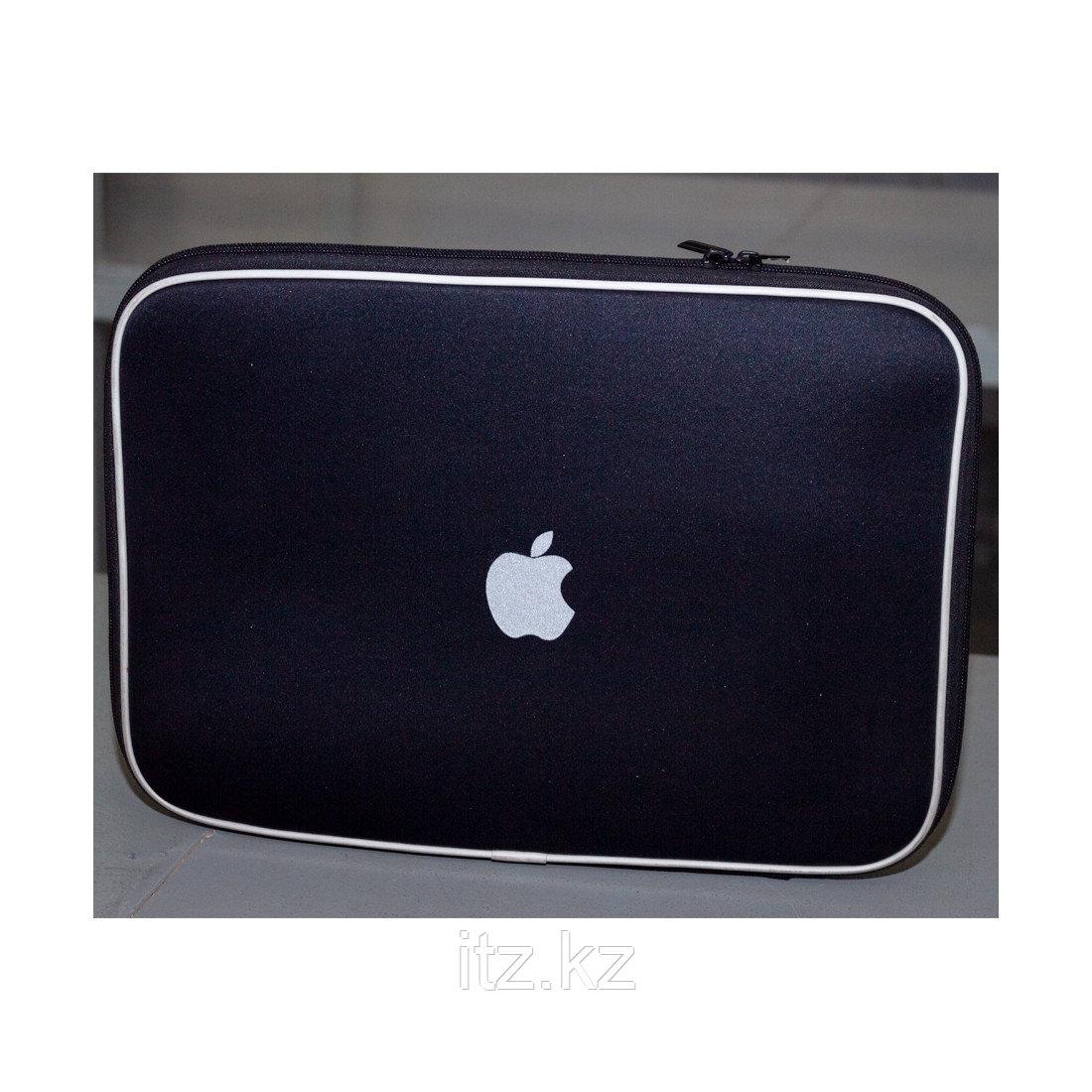 """Чехол для ноутбука, NUMANNI, 15"""", Чёрный с логотипом Apple"""