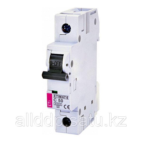 Автоматический выключатель ETIMAT 6 1p C50