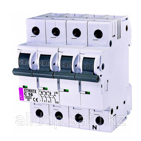 Автоматический выключатель ETIMAT 6 3p+N C16