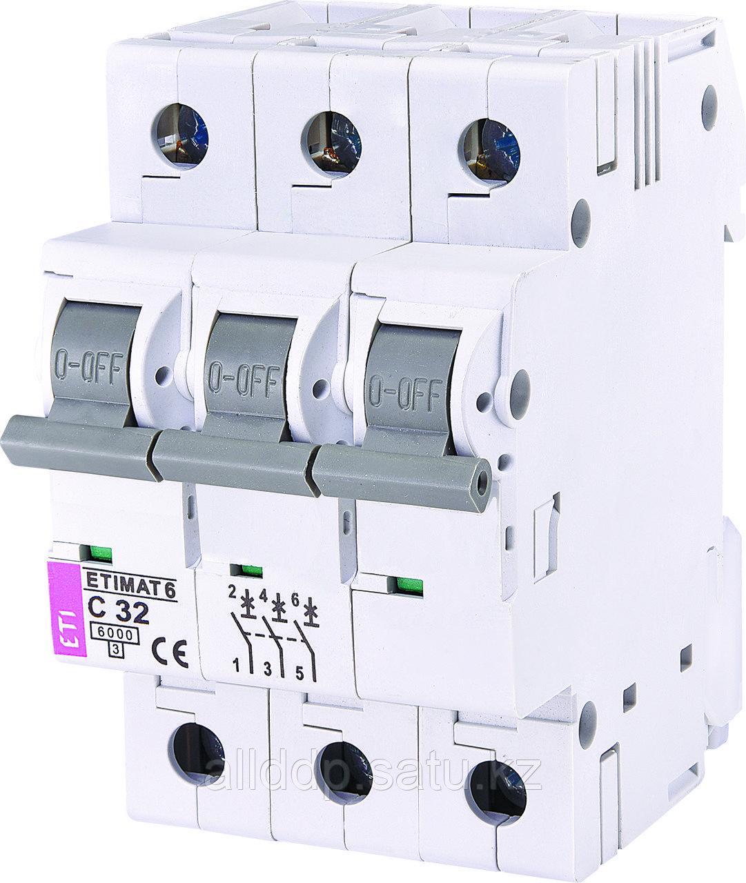 Автоматический выключатель ETIMAT 6 3p C32