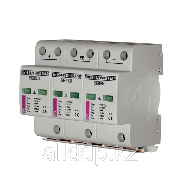Ограничитель перенапряжения ETI ETITEC S B-PV 600/12,5