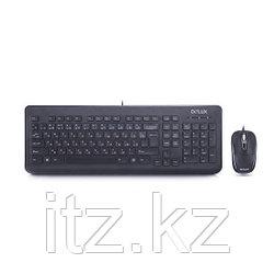 Комплект Клавиатура + Мышь Delux DLD-1005OUB