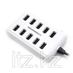 Расширитель USB Deluxe на 10 Портов DUH10001WH