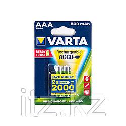 Аккумулятор VARTA R2U Micro 1.2V - HR03/AAA (2 шт)