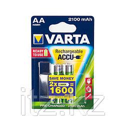 Аккумулятор VARTA R2U Mignon 1.2V - HR6/ AA (2 шт)