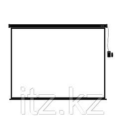 """Экран моторизированный (с пультом Д/У) Deluxe DLS-ERC406х305B (160""""х120""""),"""