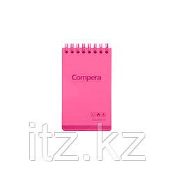 Блокнот A7 Comix CPA7801, 80 л., красный