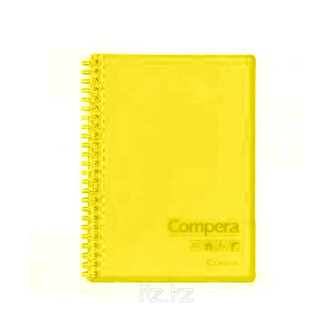Блокнот B5 Comix CPB5801, 80 л., жёлтый