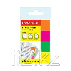 Закладки бумажные с клеевым краем ErichKrause