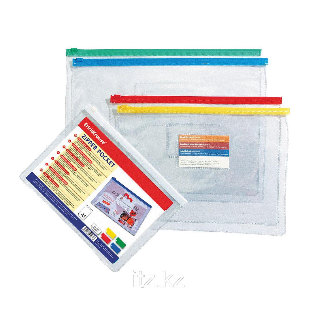ZIP-пакет пластиковый ErichKrause