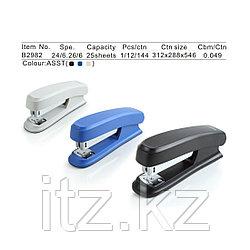 Степлер Comix B2982 24/6  на 25 листов, в ассортименте