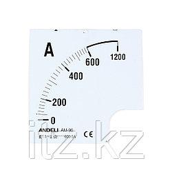 Шкала для амперметра ANDELI 300/5