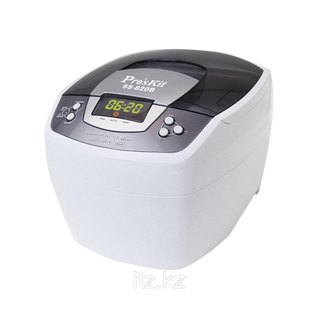 SS-820B Ультразвуковая ванна цифровая (160Вт,таймер,2000мл)  Pro'sKit