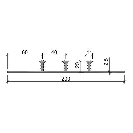 Гидрошпонка ХОМ-200-3/20 ПВХ-П
