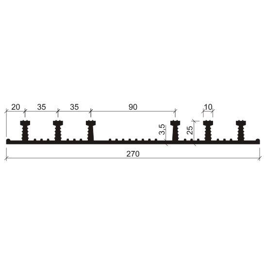Гидрошпонка ХО-270-6/25 EPDM