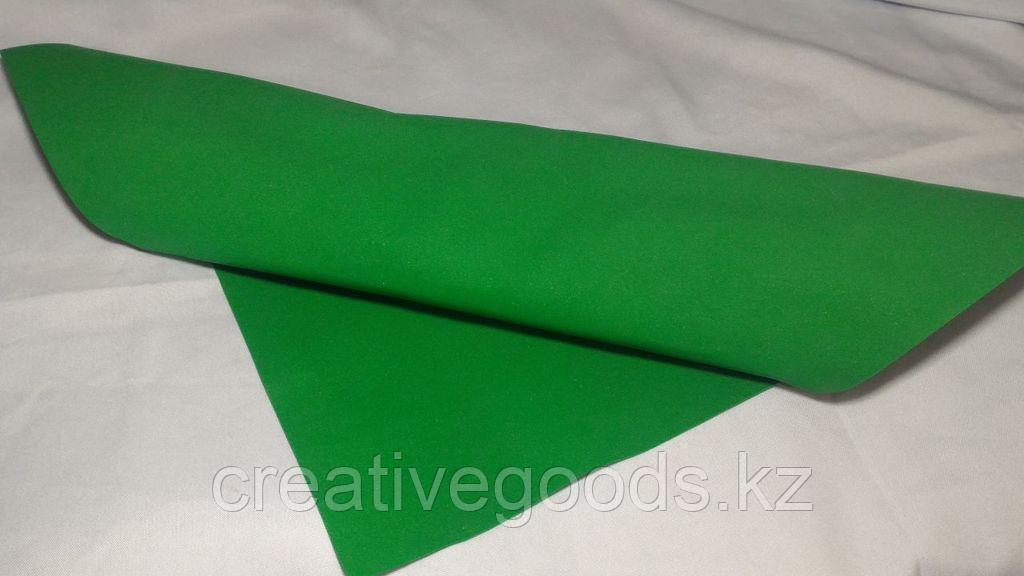 Фоамиран. Зеленый. 1 мм. Creativ 2224