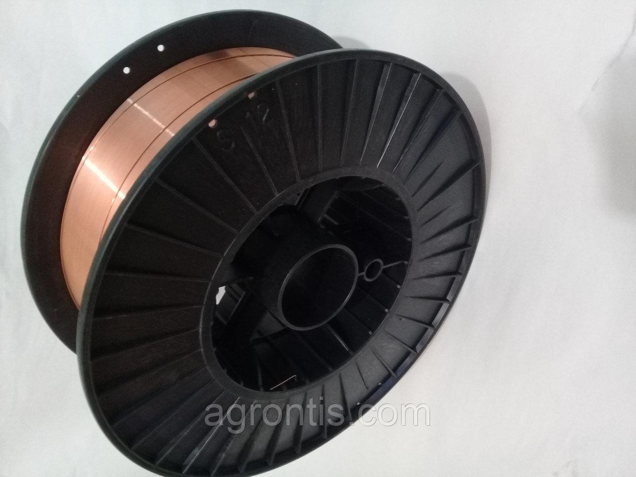 Сварочная проволока омедненная ER70S-6 (Св-08Г2С)д. 1.0мм, 15 кг