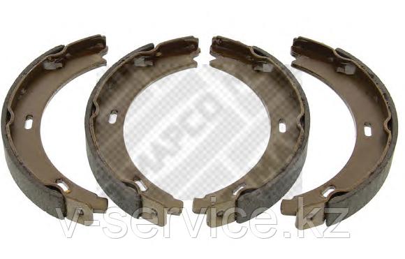 Тормозные колодки ручника W220(220 420 05 20)(MEYLE)(FEBI 23199)