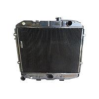 Радиатор водяной медный 3-х рядный 3160-1301010