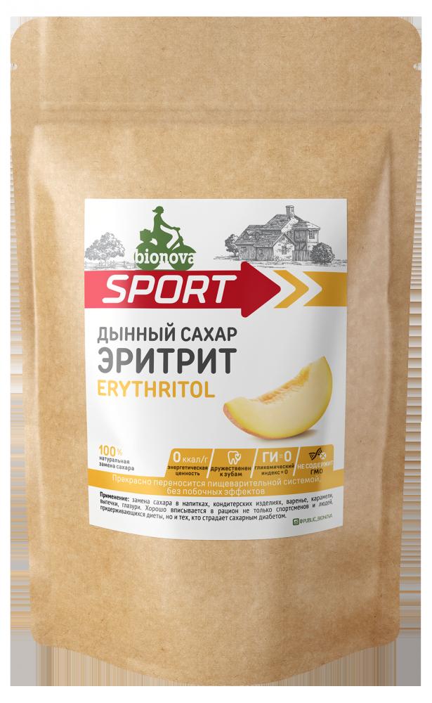 Эритрит Bionova® 200 гр Натуральный сахарозаменитель
