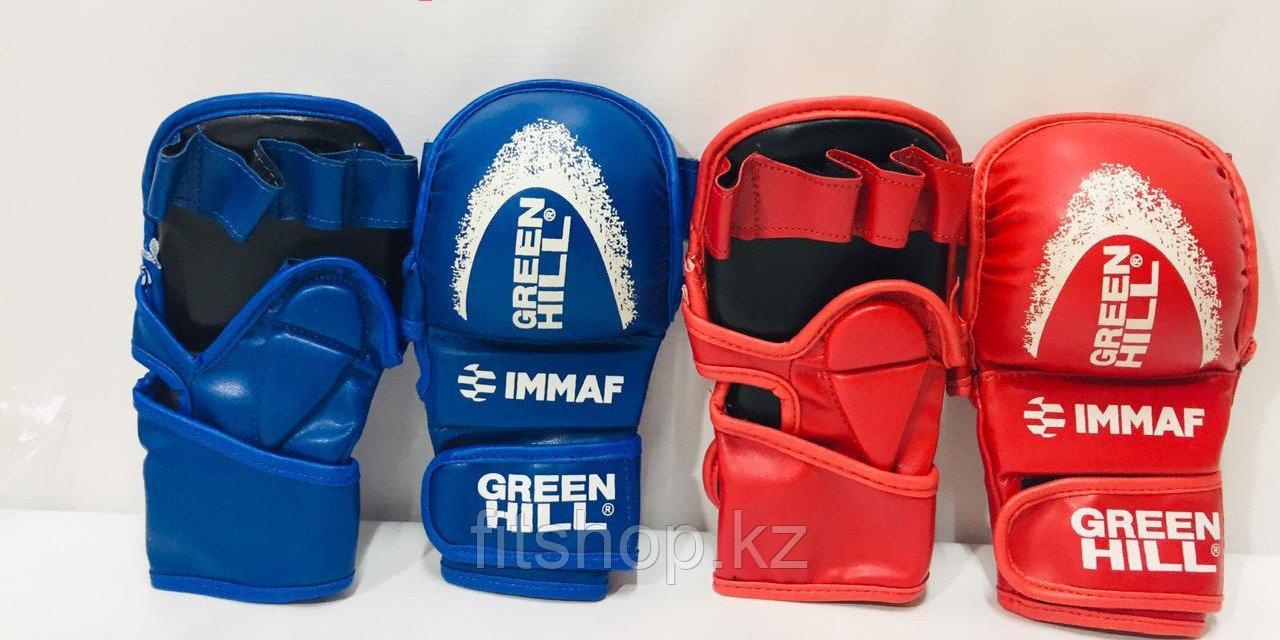 Перчатки-накладки GREEN HILL для тренировок и соревнований по каратэ