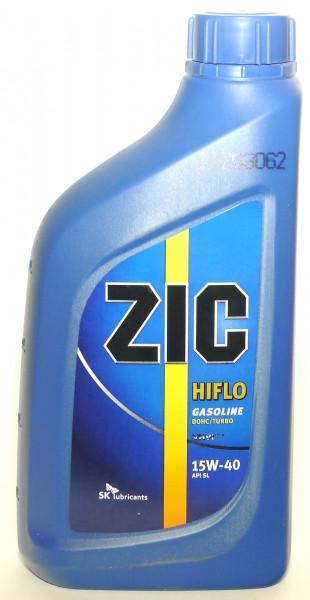 Моторное масло ZIC HIFLO 15W-40 1L
