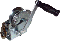 Лебедка барабанная 1т 20м ручная TOR LHW-2500