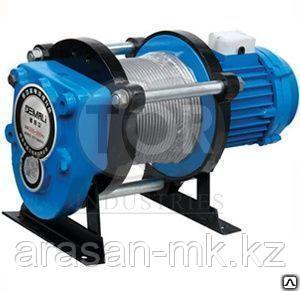 Лебедка тяговая электрическая 0,5т(500) 380В  КCD-500-A с канатом 30м