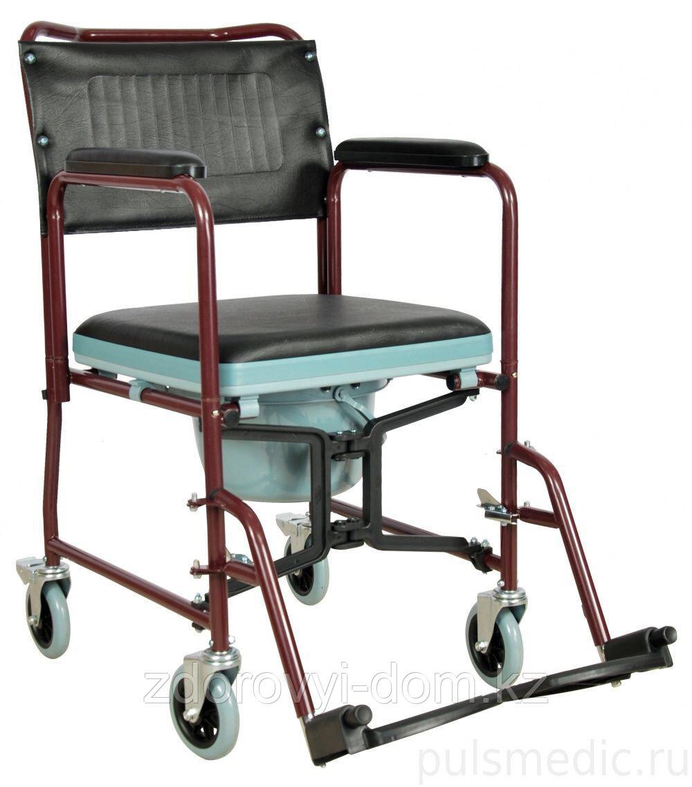 Кресло каталка с туалетом