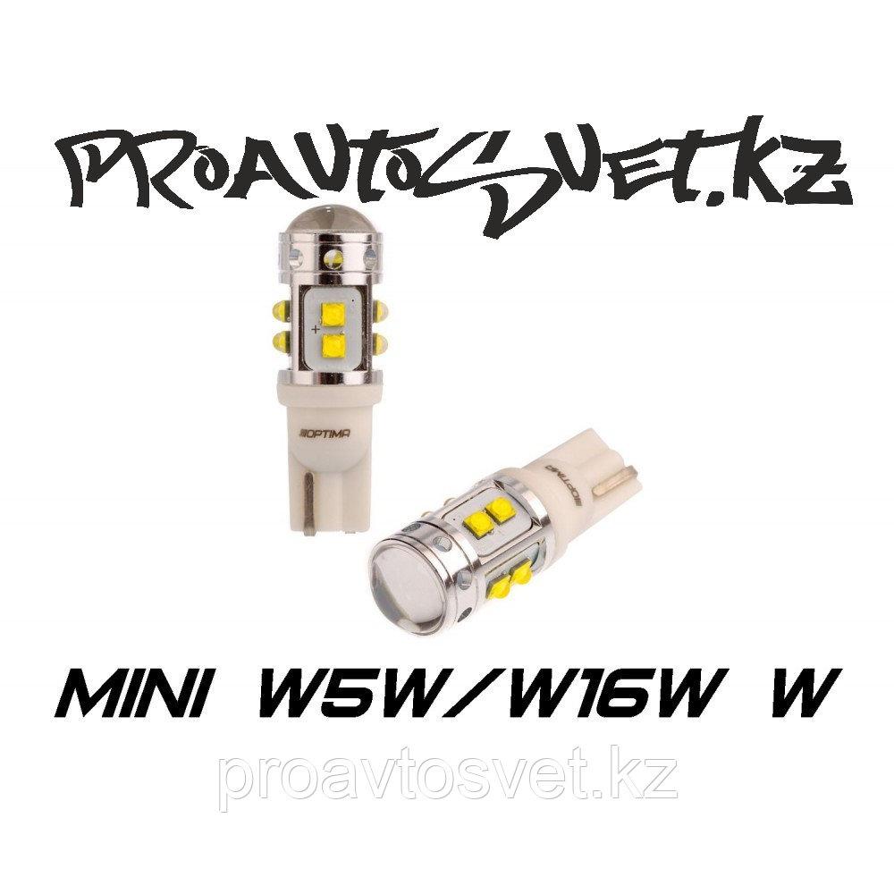 Светодиодная лампа Optima Premium W5W, W16W (T10) 50W 5100K