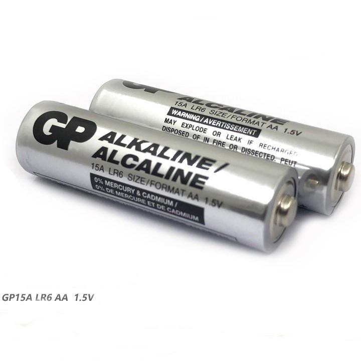 Батарейка щелочная GP AA (15A)Элемент питания АА  алкалиновый