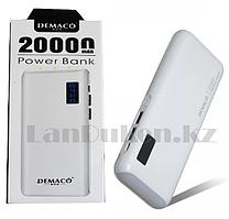 Портативное зарядное устройство DEMACO Power Bank DKK-005 20000 mAh, белое