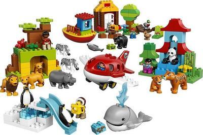 Конструктор аналог LEGO DUPLO