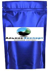 Пакет дой-пак металлизированный светло синий (рефлекс) матовый с замком zip-lock