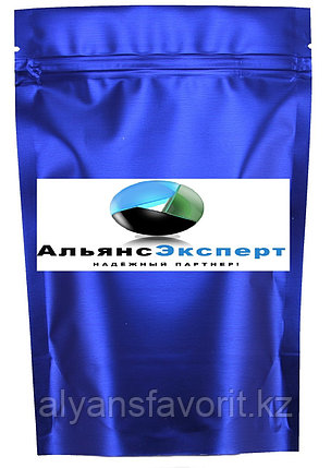 Пакет дой-пак металлизированный светло синий (рефлекс) матовый с замком zip-lock, фото 2