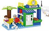 """Конструктор Building Bricks аналог Лего Дупло LEGO DUPLO Набор """"Большой поезд"""" ж\д город 125 деталей., фото 3"""