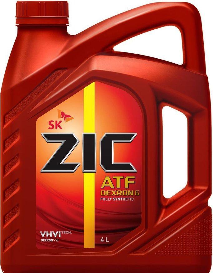 Трансмиссионное масло ZIC ATF DEXRON 6 4L