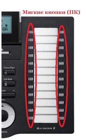 Мягкие кнопки на телефоне