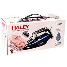 """Утюг паровой c подошвой """"Crystal Ceramic"""" HALEY HY-280 (Фиолетовый), фото 3"""